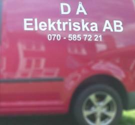 logotyp på servicebil